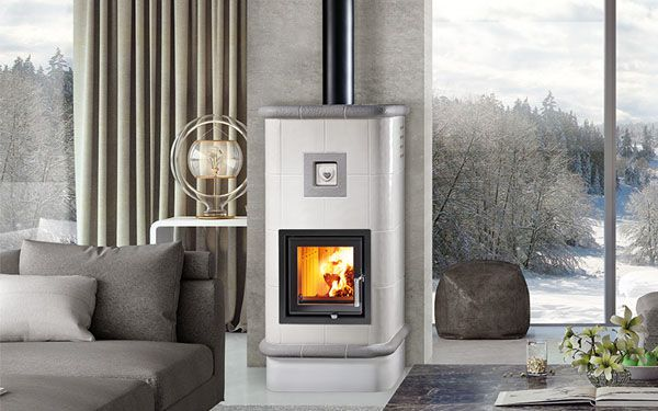 ceramic wood stove designed by yourself La Stubetta