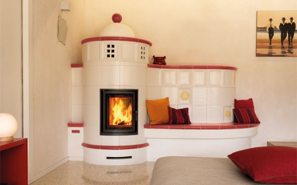 ceramic tiled custom-made stoves