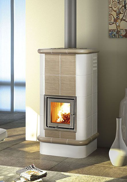 ceramic wood stove