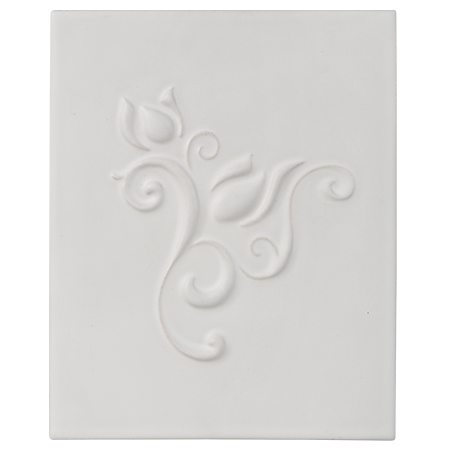 lily decorative tile