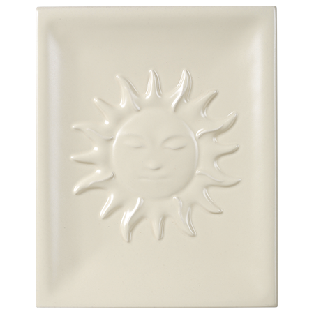 sun decorative tile