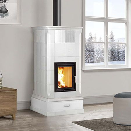 efficient wood burning stove Armonia