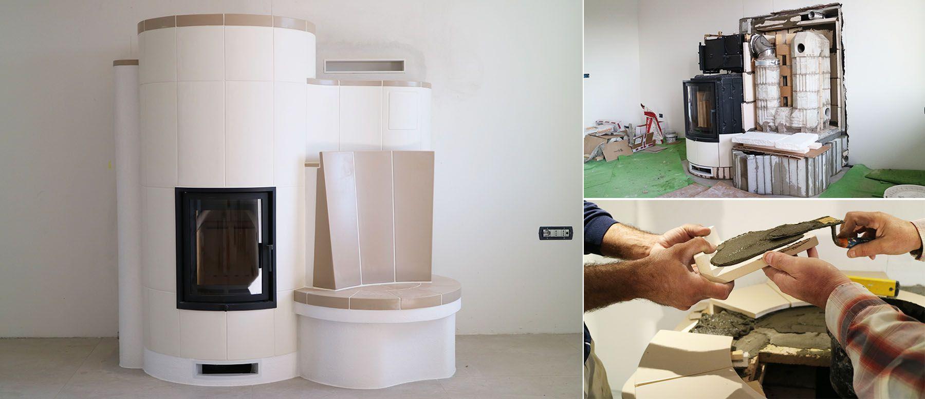 Come Riscaldare Ambienti Grandi il progetto: una stufa in maiolica che riscalda anche l'acqua